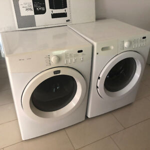 Frigidaire front load washer and dryer for sale