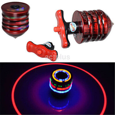 Magic Spinning Top Gyro Spinner Laser LED Music Flash Light Kids Toy Gift 1PC US - Spinning Led Toy