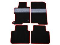 Fits 13-17 Acura RDX Black Nylon Floor Mats Carpets