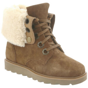 Bearpaw Women's Kay Fold-Down Lace Boot, SIZE 6, NEW
