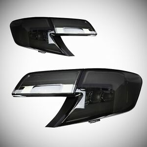 LED Smoked Tinted Tail Lights Conversion For Toyota Camry 2012-2014 Assembly
