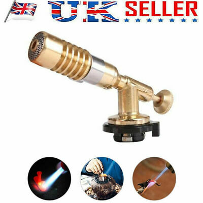 Welding Brazing Nozzle Blow Torch Butane Gas Plumbing High Temperature Torchs l