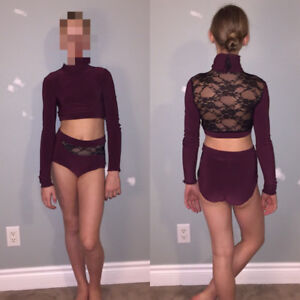 Competitive dance costume custom made