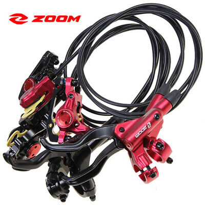 ZOOM HB875 MTB Mountain Bike Cycling Hydraulic Disc Brakes Levers Front Rear