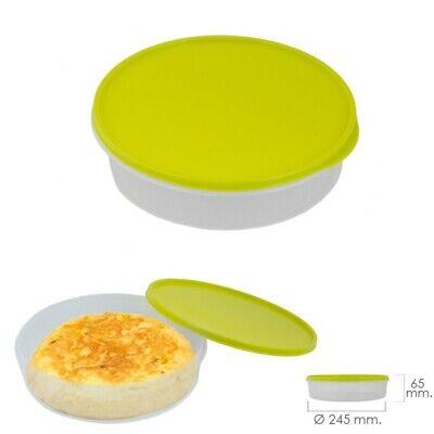 Fiambrera Para Tortillas Redonda Ø 24.5 cm. 2 Litros