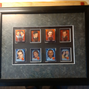 Radio Entertainers - Stamp Art Framed - Limited Numbered