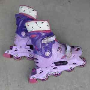 Groovy Chick Adjustable In line Skates