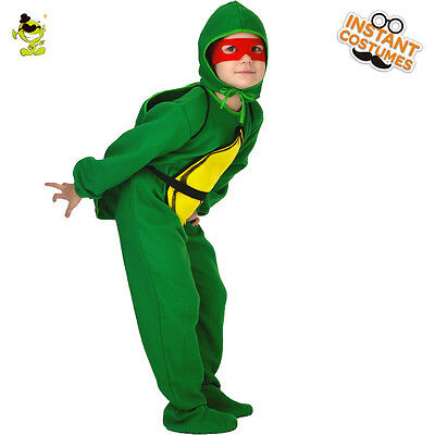 Boys Turtle Costumes Kids Carnival Party Lovely Cartoon Tortoise Dress up Outfit (Turtle Dressing Up Outfit)