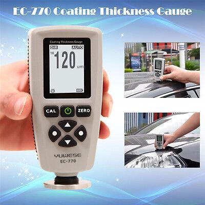 Ec-770 Professional Lcd Digital Coating Film Paint Thickness Gauge Meter Tester