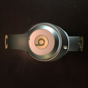 Beats By Dre Headphones Gold/Silver