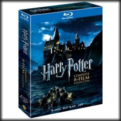 Harry Potter: Complete 8-Film Collection (BLU-RAY, 2011, 8-Discs) FAST SHIPPING