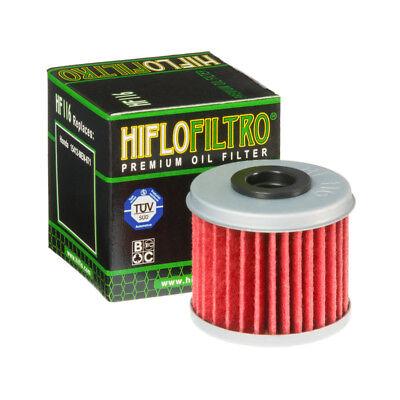 HiFlo Oil Filter HF116 Honda CRF250R CRF450R CRF150R 2002-2017 Husqvarna TC (116 Oil)