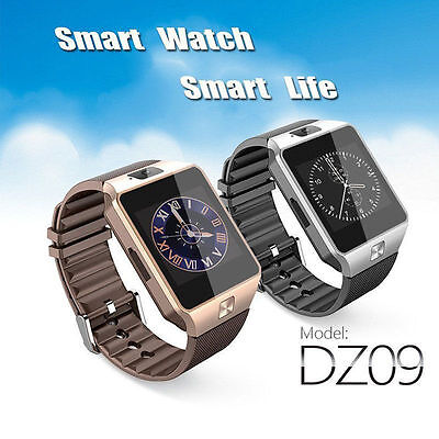 Charm 2016 DZ09 Bluetooth Smart Watch Phone Mate GSM SIM For Android iPhone IOS