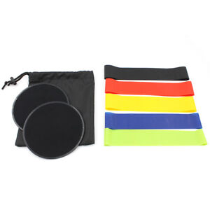 *NEW* DUAL SIDED CORE SLIDERS and 5 RESISTANCE BANDS