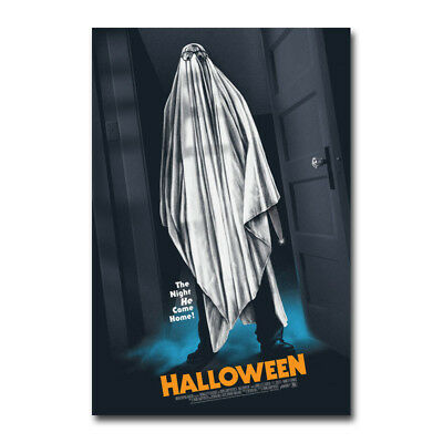 Halloween Horror Movie Art Canvas Poster 12x18 32x48 inch