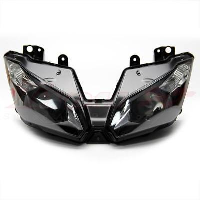 Replacement Front Lamp Headlight Assembly For  Kawasaki ZX-6R ZX636 2013-2016 US