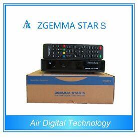 Zgemma Star S HS 2S H1 H2 LC H2S H2H HD DVB SINGLE TUNER SKYBOX OPENBOX VU SOLO2 AMIKO IPTV Box VU +