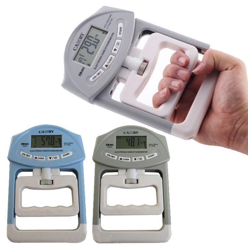Electronic Fitness Equipment Dynamometer Digital Hand Grip Power Strength Tester