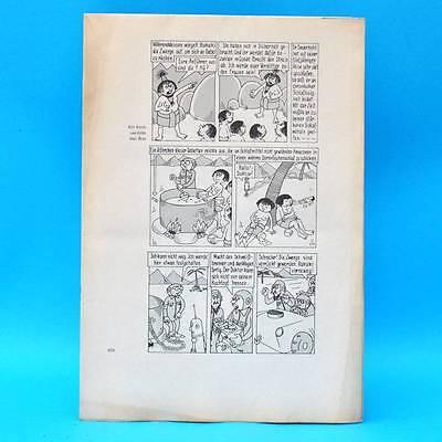 Original DDR-Comic-Druckbogen | Erich Schmitt | Das dicke Schmitt-Buch 3