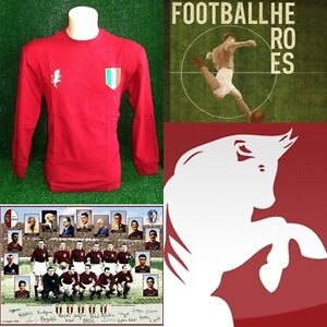 MAGLIA CALCIO GRANDE TORINO 1949 SHIRT FOOTBALL MAILLOT TRIKOT VINTAGE RETRO - Italia - MAGLIA CALCIO GRANDE TORINO 1949 SHIRT FOOTBALL MAILLOT TRIKOT VINTAGE RETRO - Italia