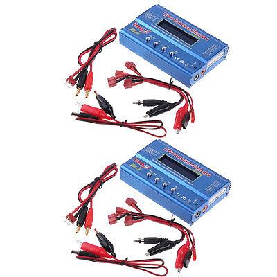 2 X Imax B6 Charger Professional Digital Rc Lipo Nimh Battery Balance Charger Us