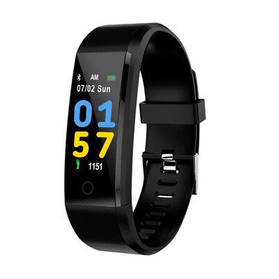 6ba9e1c2e Men Women Smart Watch Sport Heart Rate Blood Pressure Pedometer Fitness  Bracelet