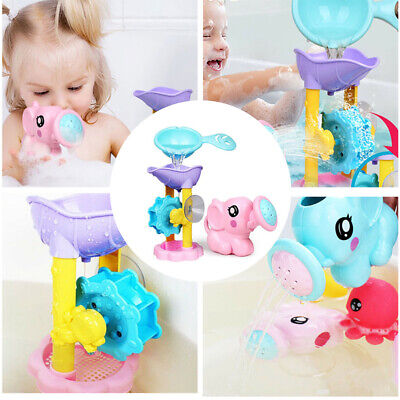 Kids Baby Swimming Bath Toys Elephant Watering Pot Bathtub Showering Bath Time