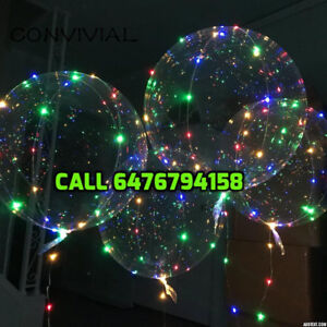 Led party balloons Christmas,New year,Birthday parties