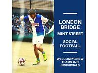 SPACES - London Bridge (Mint Street) 5-a-side Football Leagues!