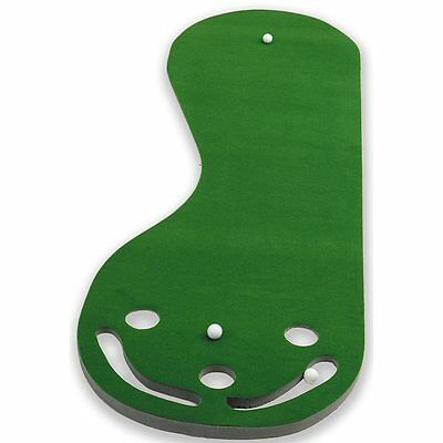 Practice Putting Green Par 3 Golf Mat Indoor Aid Training Equipment Putt Turf
