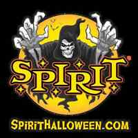 Sales associate, SPIRIT Halloween