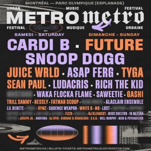 Billet festival metrometro