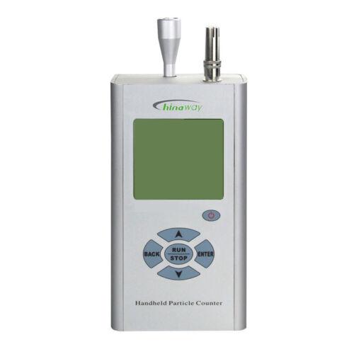 Handheld Laser Dust Particle Counter Air Quality Monitor 0.3um 0.5um 5.0um