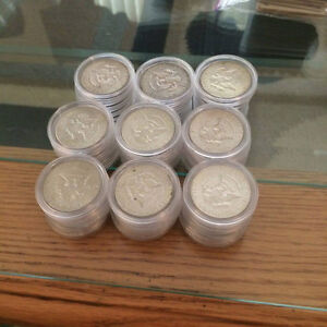 Selling Large Amount of Silver Coins Both Canadian and American