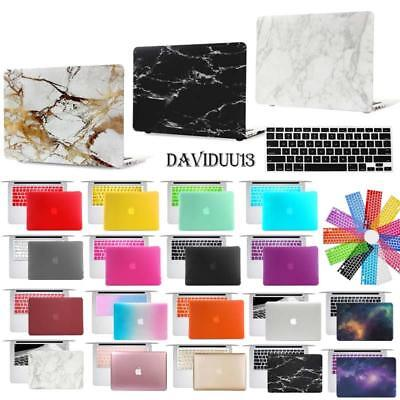Rubberized Case Cover with Keyboard Skin for Apple MacBook a