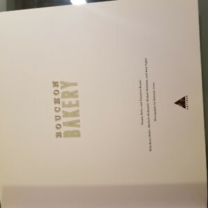 Pastry book Bouchon Bakery by Thomas Keller and Sebastien Rouxel