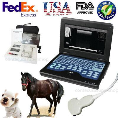 Usa Veterinary Cms600p2vet Notebook Animal Use B-ultrasound Diagnostic System