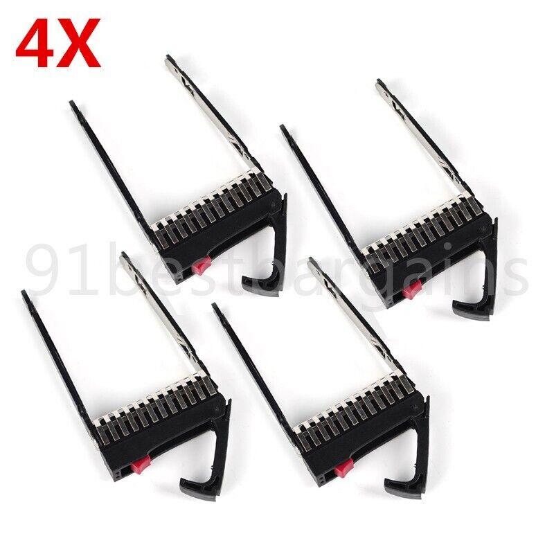 """4X 2.5"""" SAS/SATA HDD Caddy Tray FOR HP ProLiant DL ML G5 G6 G7 500223-001 508009"""