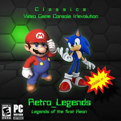 Retro Legends Emulation 6666 Games SNES/N64/MEGADRIVE/MAME/NEOGEO/ATARI