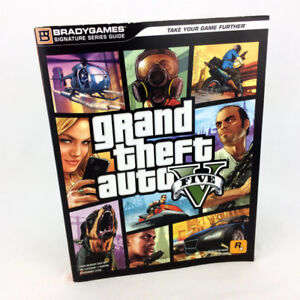 Grand Theft Auto V 5 Strategy Guide Official Games Book PS3 XBOX