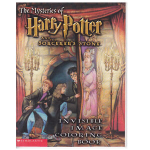 HARRY POTTER & SORCERER'S STONE: INVISIBLE IMAGE COLORING BOOK