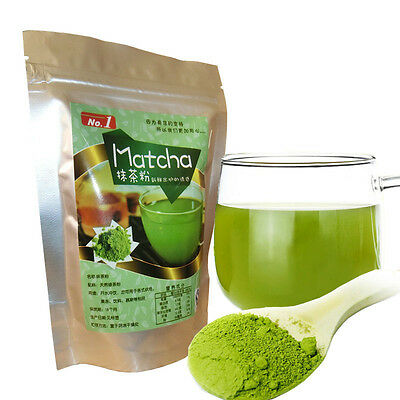 New 100% Pure Organic Natural Matcha Green Tea Powder 80g bag