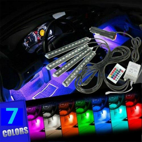 Car Parts - Parts Accessories RGB LED Lights Car Interior Floor Decor Strip Lamps Atmosphere