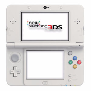 new 3DS (white mario bros edition)