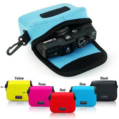 Neoprene Soft Camera case bag for Canon PowerShot G12 G15 G16 SX260 SX275 SX280