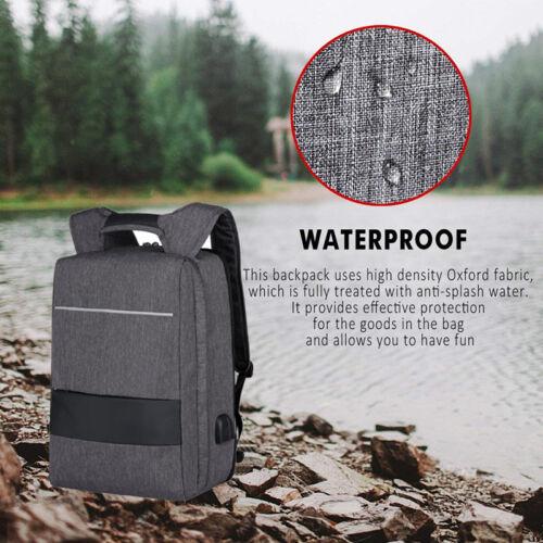 17,3'' Laptop Rucksack Reise Business Aktentasche Wasserdicht Rucksack Tasche