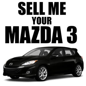 Looking For 2010-2011 Mazda3 GT