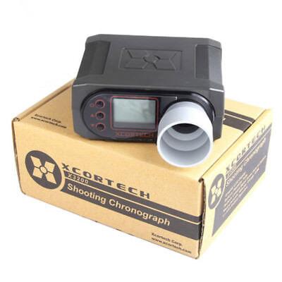 Bullet Velocity Shooting Laser Speedometer Precision Ballistic Chronograph White