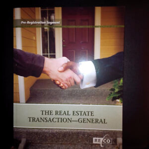 BOOK FOR SALE - The Real Estate Transaction - General Kitchener / Waterloo Kitchener Area image 1
