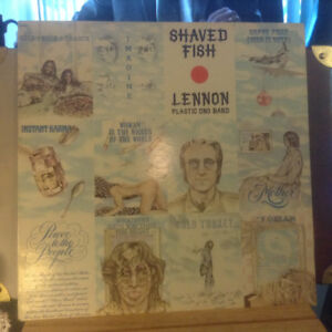 John Lennon/Plastic Ono Band - Shaved Fish Vinyl LP 1975